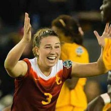 Milford's Morgan Andrews enjoying NCAA soccer glory at USC