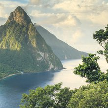 Fly away to the fantastical mountains of St Lucia
