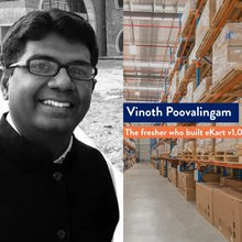Vinoth Poovalingam, the Flipkart fresher who built eKart