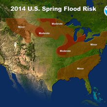 Spring Thaw May Trigger Floods; Calif. Drought Locked In