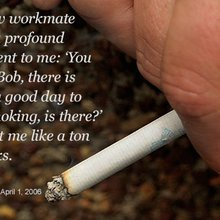 Nine ex-smokers on their last cigarette - CNN.com