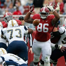 Alabama Football: DL A'Shawn Robinson is a Competitive Force of Nature