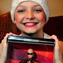 Bald Barbie cheers up cancer patients, families