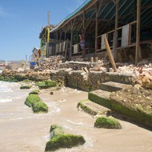 Iconic Jamaican beach vanishing as pollution, climate change take a toll