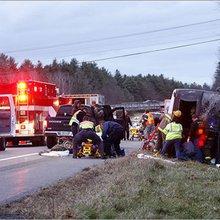 UMass Amherst bus crash