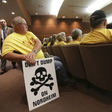 Battle over oil field waste facility heats up
