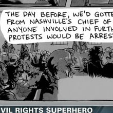 Civil rights superhero: Rep. Lewis creates civil rights comic book