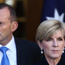 Julie Bishop and Palestinian ambassador hit back at Tony Abbott's Israel-Palestinian comments