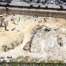 Construction firm demolishes Phoenician port