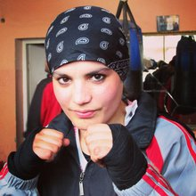 Afghanistan's first female Olympic boxer eyes London dream