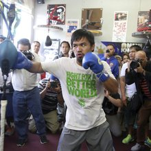 Pacquiao interview Part II: 'I'm sure' Dubai fight would be great experience