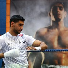 Amir Khan says 'Our fight will steal the show' ahead of bout with Luis Collazo, which is on Floyd...