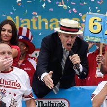 Coney Island and Famous Nathan's celebrate the 4th