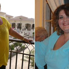 21-stone woman who couldn't fit in car sheds nearly half her body weight