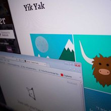 Yik Yak talks back - and sometimes it's threats on schools