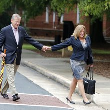 Winthrop president, husband return his $27K salary to university