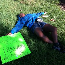 George Zimmerman trial: Outside courthouse, chants of 'No justice, no peace'