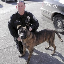 TOP DOG: Police department's newest K-9 reports for duty