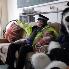 Touching #PeelerTheDog Christmas Policing Message #PeelersChristmas - Police Hour