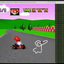 Developer trains artificial neural network to play Mario Kart 64