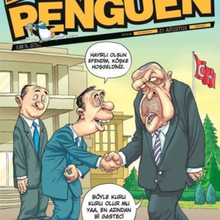 Satirical Cartoonists Fined For Magazine Cover Suggesting Turkish President Is Gay