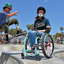 Adaptive skaters: Back flips and broken prosthetics from Southern California's best
