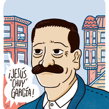 Chuy Garcia Navigates the Past in the Racial Politics of the Present
