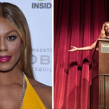 Laverne Cox delivers USC address highlighting deadly issue for Trans people