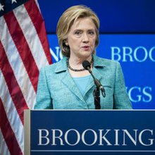 Clinton wants to apply more pressure on Russia, Putin