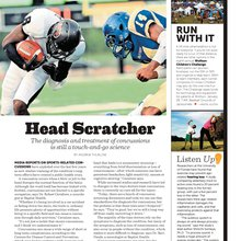 Head Scratcher - The diagnosis and treatment of concussions is still a touch-and-go science