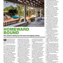 Homeward Bound - How Airbnb is taking over the travel and lodging industry