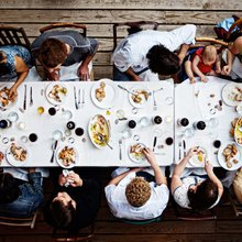 A Shared Meal: Nourishment for the Body + Soul