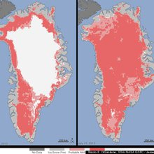 Greenland Ice Melt Reaches Unprecedented Level | Climate Central