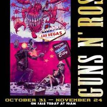 Controversial Las Vegas Guns N' Roses Posters Removed