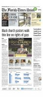 Black church pastors walk thin line on rights of gays