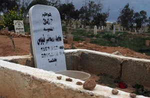 Paying Respects To A Fallen Journalist In Libya : NPR