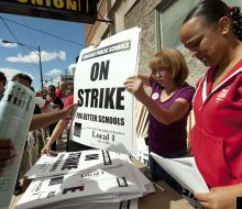 Teachers In Country's 3rd Largest District Go On Strike