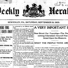 Commitment to Sewickley Valley news still strong after 109 years