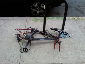 Abandoned Bikes Abound