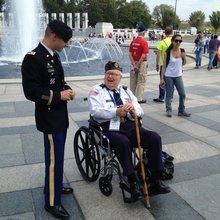 Kentucky Veterans Take Honor Flight to Washington