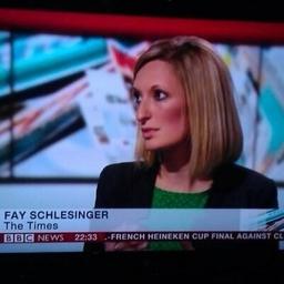 Fay Schlesinger on Muck Rack