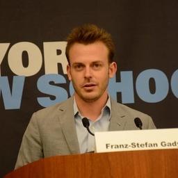 Franz-Stefan  Gady on Muck Rack