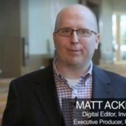 Matt Ackermann on Muck Rack