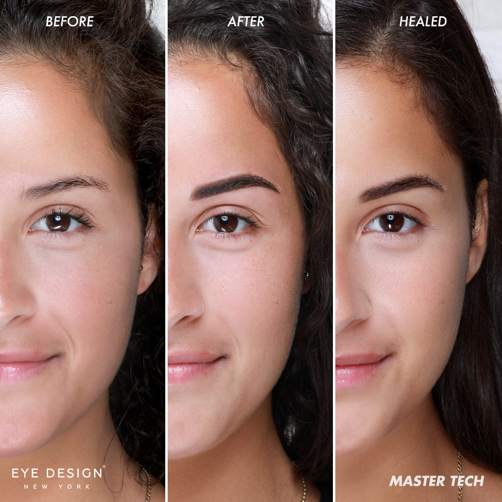 Microshading Eyebrow Treatment For Oily Or Sensitive Skin Eyebrows