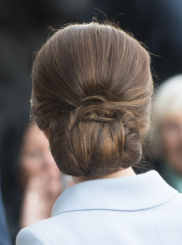 Kate Middleton Updo Tutorial
