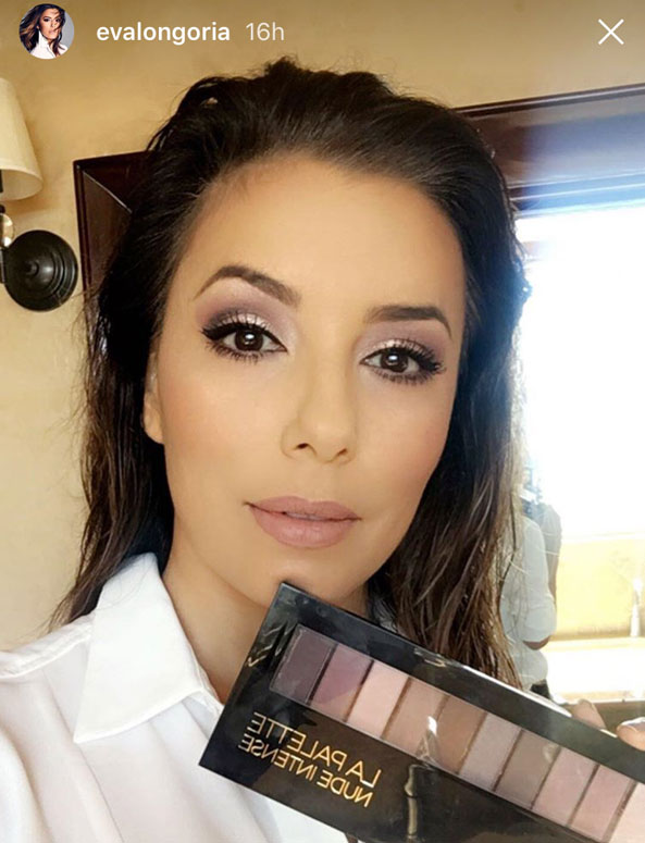 Eva Longoria Eye Shadow Tips Eye Color Makeup Dailybeauty