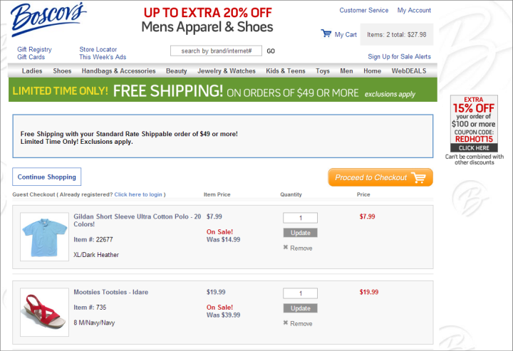 Decision Making in the Ecommerce Shopping Cart: 4 Tips For