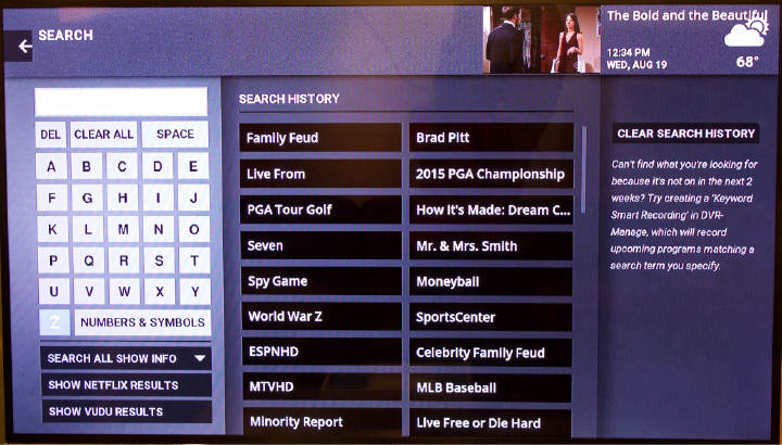 Smart-TV Usability: Accessing Content is Key