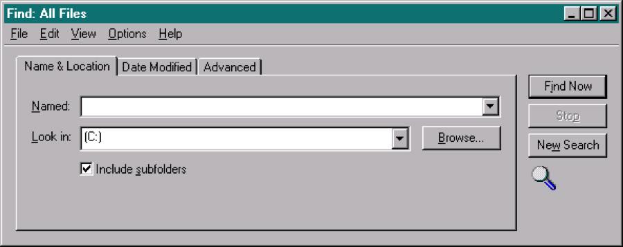 Windows 95对话框