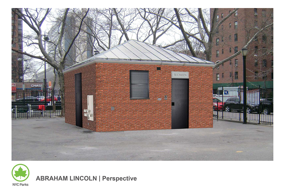 Design of Abraham Lincoln Playground Comfort Station Reconstruction